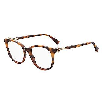 Fendi FF0393 086 Ciemne okulary Hawany