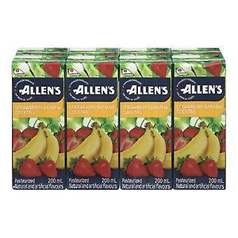 Allens Tetra Stroh Banane-( 200 Ml X 8 Dose )