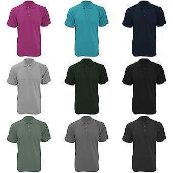Camisa Polo de manga curta-Kustom Kit Workwear Mens