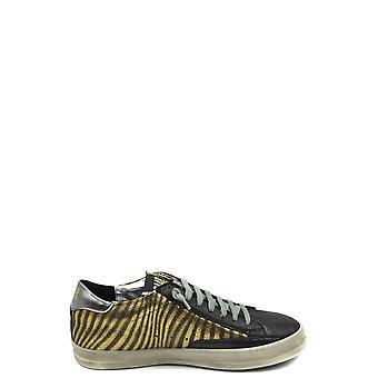 P448 Ezbc283006 Women's Multicolor Leather Sneakers