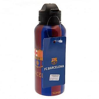 FC Barcelona Stripe & Crest Getränkeflasche