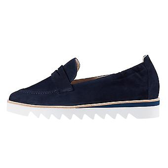 Högl 7-10 0802 Edgy Slip On Loafer Shoes In Navy