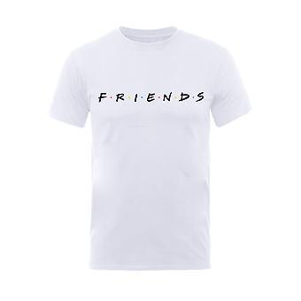 Freunde Zentrale Perk weiß Logo offizielle T-Shirt