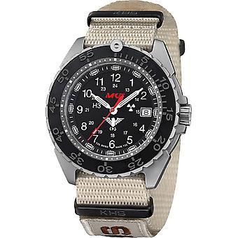 KHS Wristwatch الرجال المنفذ تيتان CR KHS. ENFTCR. NXTLT5
