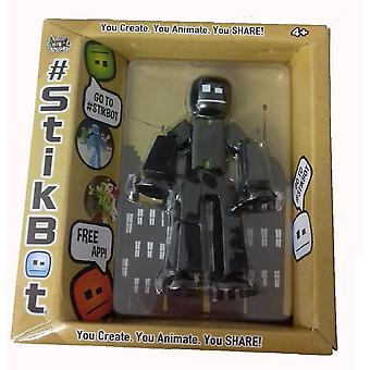 Stikbot Figure Black Solid Colour