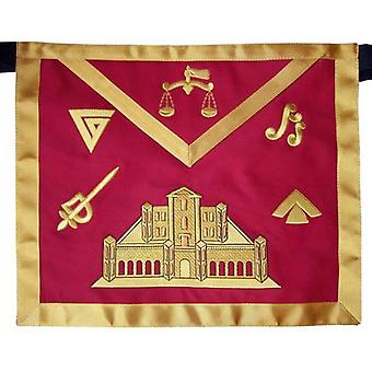 Masonic fraternal scottish rite 16th degree prince of jerusalem regalia apron