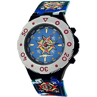 Call Of Duty Boy's Blue Cameo AK47 Icon Analogue Watch