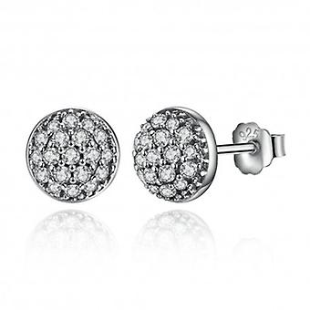 Silver Earrings Droplets - 6507