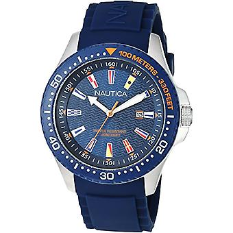 Nautica Analogueico Watch quartz men with Silicone strap NAPJBC002