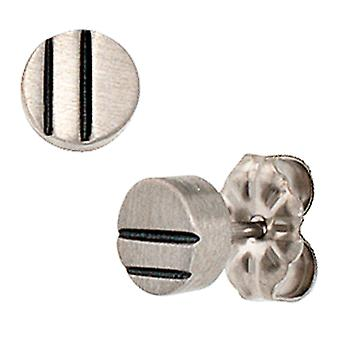 Studs titanium earrings
