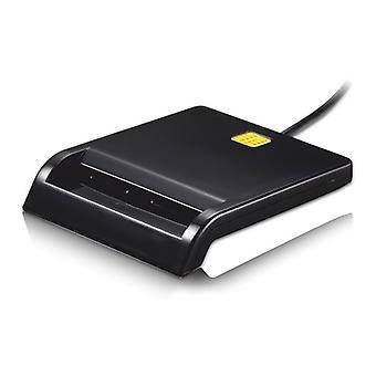 Lecteur de carte à puce TooQ TQR-210B Noir