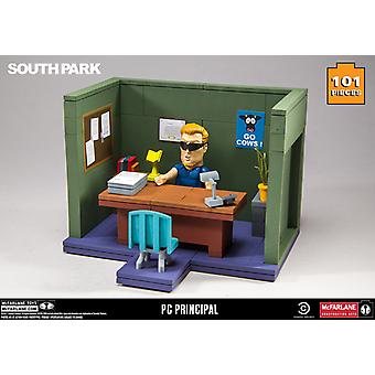 PC Principal Office Construction Figure Set from South Park