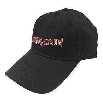 Iron Maiden Embroidered Logo Baseball Cap