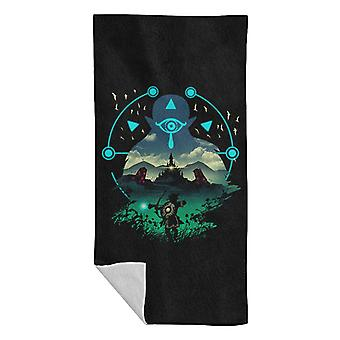 Legend Of Zelda Breath Of The Wild Wild Adventurer Beach Towel