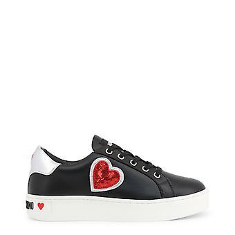 Love Moschino Women Black Sneakers -- JA15988656