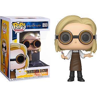 Doctor Who Decimotercer Doctor con gafas Pop! Vinilo
