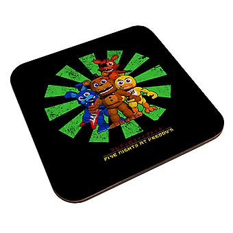 Five Nights At Freddys Retro Japanese Coaster