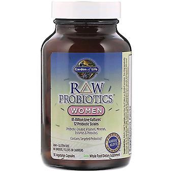 RAW Probiotika - Frauen (90 vegetarische Kapseln) - Garten des Lebens