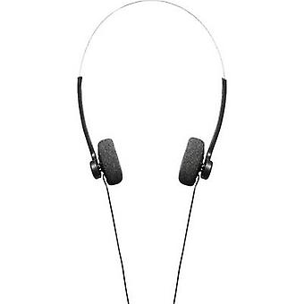 Hama Basic4Music On-ear headphones On-ear Light-weight headband Black