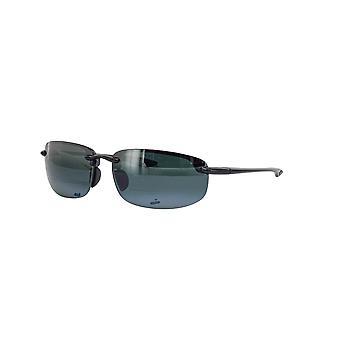 Maui Jim Ho'okipa Lezers Gloss Zwart/Neutraal Grijs + 1,50 zonnebril