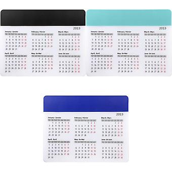 Bullet Chart Mouse Pad With Calendar