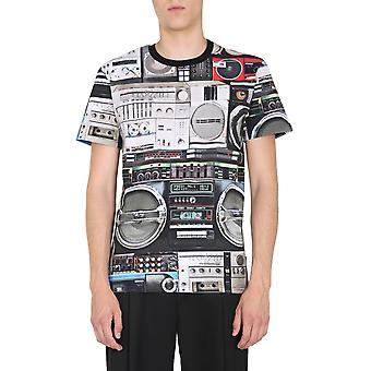 Moschino 070352401555 Männer's Multicolor Baumwoll-T-shirt