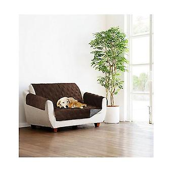 Sprint Industries Reversible Slipover Sofa Cover Protector