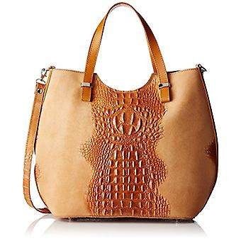 Chicca Bags 80046-1 Women's Brown shoulder bag (Leather) 40x33x14 cm (W x H x L)