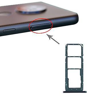 Für Nokia 7.2 / 6.2 TA-1196 TA-1198 TA-1200 TA-1187 TA-1201 SIM + SIM + Micro SD Karten Halter Card Tray Grün SD Card Ersatzteil Zubehör