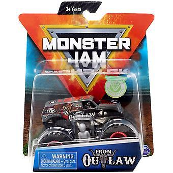 Monster Jam 01:64 Scară - Fier Outlaw