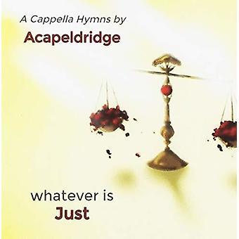 Acapeldridge - Hvad er just [CD] USA import