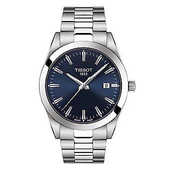 Tissot T101.410.11.041.00 Blå urskive rustfrit stål Mænd's Watch