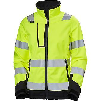 Helly Hansen Womens Luna Hi Visibility Softshell Jacket