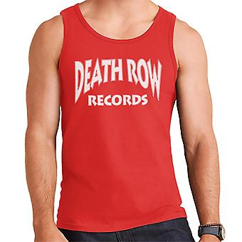 Death Row Records Logo witte mannen Vest
