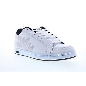 Etnies Metal Mulisha Kingpin 2 Mens White Nubuck Leather Skate Sneakers Shoes