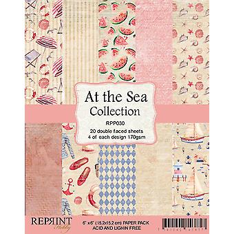 Reprint At the Sea Collection 6x6 Inch Paper Pack