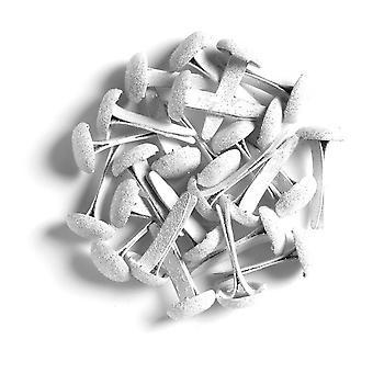 Doodlebug Дизайн Лили Белый сахар покрытием Брэдс (25шт) (1473)