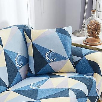 String Printed Elastic Stretch Decorative Cushion