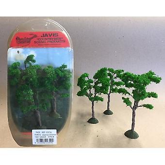Countryside Trees Type 6 - 3 x 100mm OO Gauge