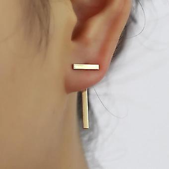 Boucles d'oreilles Gold Long Bar Drop