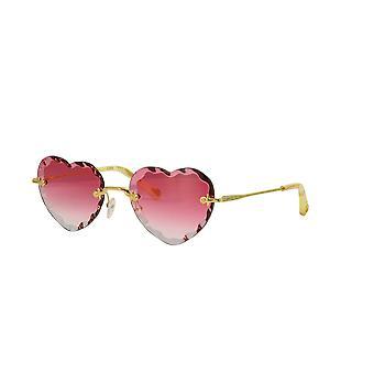 Chloe CE150S 823 Gold/Coral Gradient Sunglasses