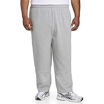 Essentials Men's big & Tall Fleece Pant fit de DXL, Light Gray Heather...