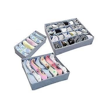 Fold Able Wardrobe Storage Organizer, Bra, Underwear, Clothes Container
