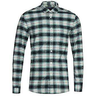 Chemise portugaise Flannel Osmose Navy & Green