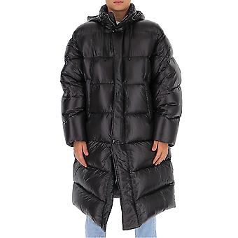 Dries Van Noten 205351178900 Heren's Zwart Nylon Down Jacket