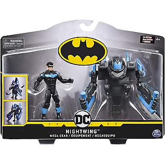 DC Nightwing 4-Inch Mega Gear Action Figure
