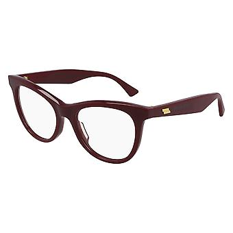 Bottega Veneta BV1064O 004 Burgundy Glasses