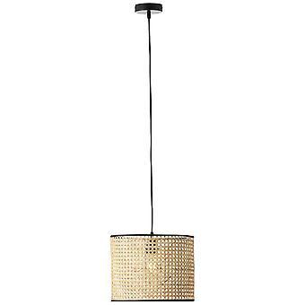BRILLIANT Lampe Wiley Vedhæng Lampe 30cm rattan | 1x A60, E27, 60W, egnet til normale lamper (ikke inkluderet) | Skala