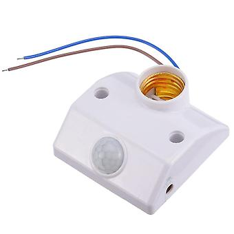 E27 Pir Infrared Motion Sensor Led, Light Lamp Holder