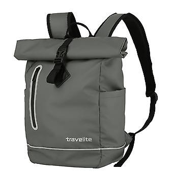 Travelite Basics Roll-Up Backpack Plane 48 cm, Gris